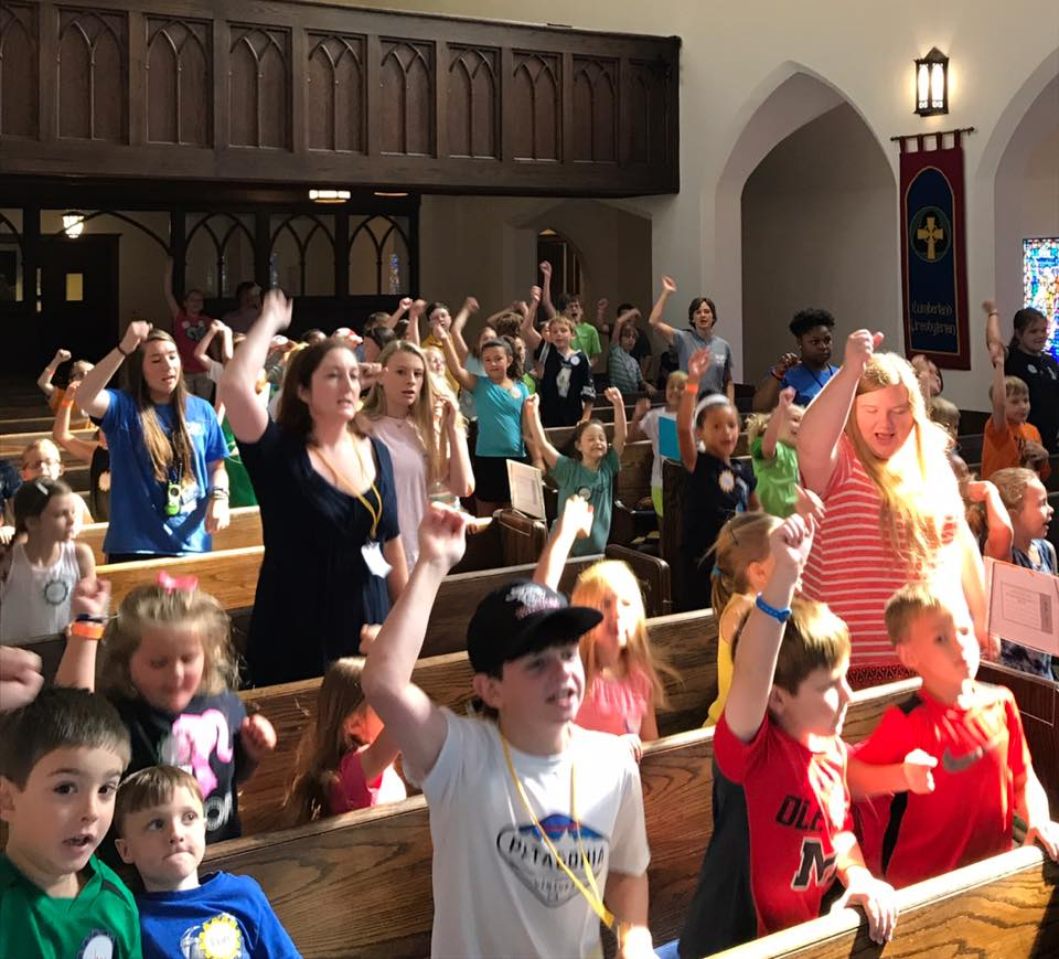 Lots of energy at VBS this morning!! #makersfunfactory #madeforthis